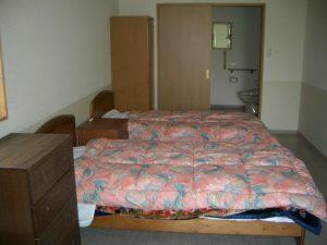 宿泊棟室内
