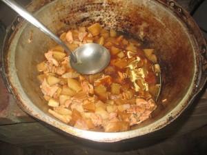 大根と鶏肉のテリテリ煮