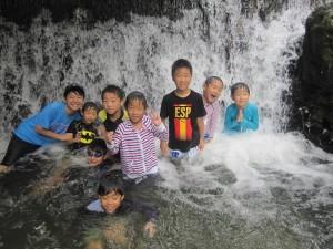 川遊び13